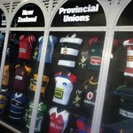New Zealand Provincial Jersey display