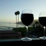 had wine on our balcony one evening, perfect!!