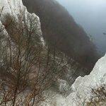 Blick auf die Kreidefelsen von Aussichtsplattform