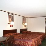 2 Beds with Microfridge