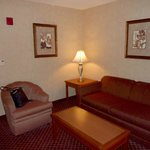 Living room area of standard suite