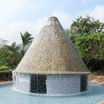 El Volcán piscina del Hotel los Lagos