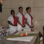 Our spa therapists