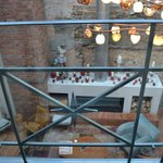 View of the Kitchen restaurant from our indoor balcony