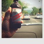 and off course the ice cold Red Stripe beer