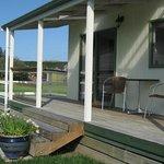 One bedroom cottage verandah