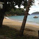 Tranquil beach.