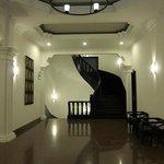 Hallway on our floor