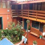 Pirwa courtyard...great cloud watching..and hammock