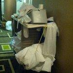 Housekeepers cart
