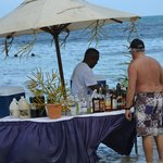 Bar service from the ocean..