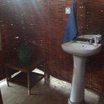 Outdoor bathroom for the gazebo
