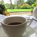 Tea on the veranda