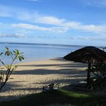 Beach outside Savaii Lagoon