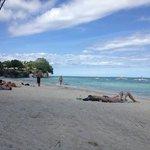 left side of alona beach