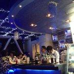 Penthouse dinner bar