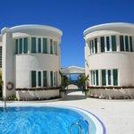 Hotelgelände mit Pool