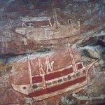 Aboriginal rock art - contact period