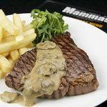 Mushroom Rump Steak