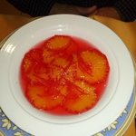soupe d'oranges