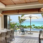 Villa Stylia Beach - From Living Room