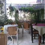 Romeos Cafe the BEST cafe in Pagi Village Corfu