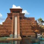 Atlantis Bahamas - Mayan temple leap of faith