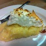 Divine homemade coconut pie