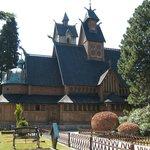 Iglesia Wang. Karpacz, Polonia