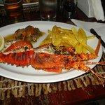 Grilled Lobster - Casa de Comer Restaurant