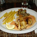 Sawfish Filet - Casa de Comer Restaurant