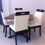 dining table in Premier Suite