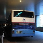 ディズニーリゾート行きバスは1日数本出ています。
