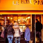 Le Petit Parisien - Wicklow Street Window