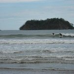 Surfers at Playa Samara