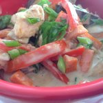 Red Curry with Jasmine Rice
