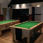 The best pool room in town (first floor)