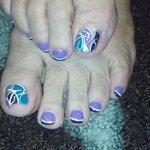 nail art by Lisa