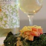 Merluzza wrapped in Kale & Albarino