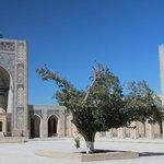 Buchara: Kalon-Moschee (Innenhof)