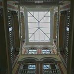 Patio interior del hotel