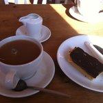 Tea and Millionaire's shortbread