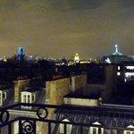 Même vue illuminée sur Paris (exceptionnelle, bis)