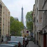 Proximidade da Torre Eiffel