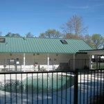 Almond Tree RV Park - outside pool