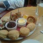 Afternoon tea for 2 with a glass bubbly
