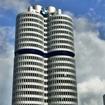 BMW tower.