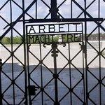 """""""Work makes you free"""". The lie....  Dachau."""
