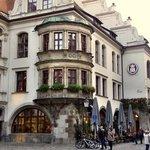 Beer house. Hofbrauhaus.