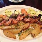 Bacon wrapped shrimp..very good